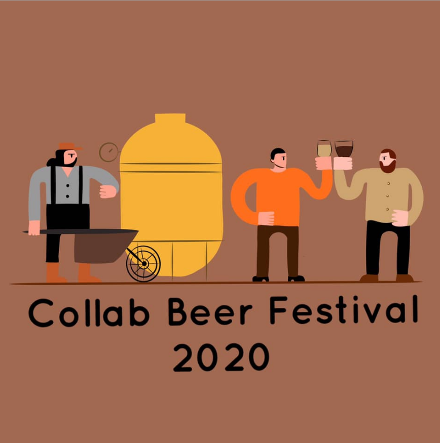 "The poster of the event — Collab Beer Festival 2020 in Pub ""Mash Taproom - Craft Beer & Coffee"""